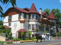 Frankenmuth, Michigan is a Little Bavaria in MI. Totally cute town we visited a few years ago. #michigan #usa #frankenmuth