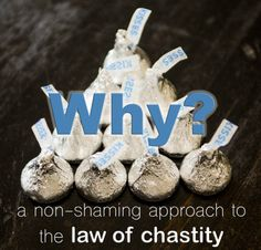 Chastity Lesson. Although, I feel food can be a weak comparison for those who don't agree with her  choices of food examples. I would instead used something like light: matches vs sunlight; or sound : loud vs soft; or some other sensory experience that ain't as subjective as taste can sometimes be.