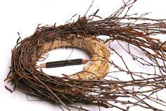 Fall Wreaths, Easter Wreaths, Christmas Wreaths, Christmas Decorations, Spring Decorations, Twig Wreath, Door Wreath, Easter Egg Crafts, Deco Floral