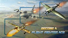 You are invited to an epic 3D adventure!!! Become a Flight Fighter Ace…. Choose your Air Combat battle NOW! https://play.google.com/store/apps/developer?id=UBM+Games