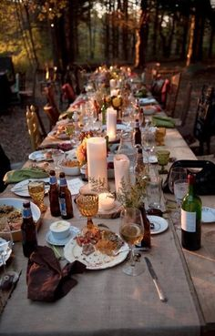 Do you guys think this is what a Sullivan #family #dinner table must look like?!