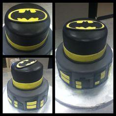 Gotham city batman birthday cake