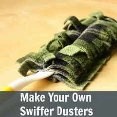 Make Your Own Swiffer Dusters