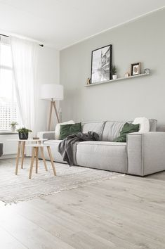 The Anatomy of the Perfect Scandinavian Living Room Sage Living Room, Living Room Tv, Home And Living, Living Room Chairs, Scandinavian Interior Living Room, Living Room Interior, Sofa Design, Cosy Room, Rooms Ideas