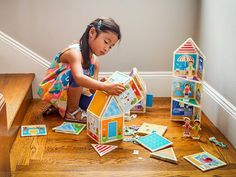 These magnetic doll houses, discovered by The Grommet, expand your child's imagination while they develops foundational STEM skills.