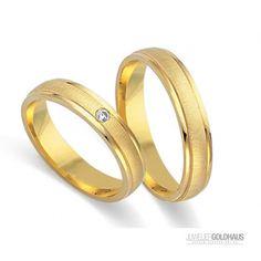 #Trauringe #Eheringe Gold Gelbgold - FIDES8629