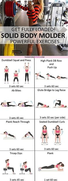 Repin and share if this workout transformed your entire body! Read the post to learn how!