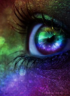 """""""I look into your eyes and see the whole Universe - born and not yet born."""" ~Rumi~ 