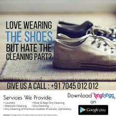 Quality #shoecleaning services in #Mumbai We pick..clean and deliver your shoes #Visit: http://www.tingtongg.com/ #Call: +91 7045 012 012 #APP: http://bit.ly/2kBOMkw
