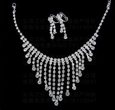 "Gorgeous Crystal ""Tears of Angel"" Wedding Jewelry JCM0002. $38.00"