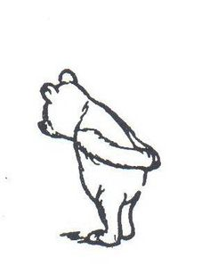 Pooh pondering