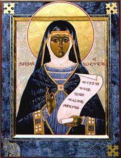 Santa Juliana Inglaterra 1342