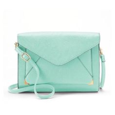 Apt. 9 Anna Crossbody Clutch ❤ liked on Polyvore featuring bags, handbags, clutches, green clutches, green purse, cross-body handbag, apt 9 purses and apt. 9