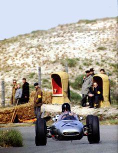 F1 1962 , Zandvoort. Dan Gurney ,Porsche 804