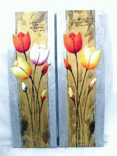 823c20a10535a7af1ed23e6ea0aeea8a.image.524x700.gif (524×700) Arte Floral, Glass Vase, Drawings, Decoupage, Painting, Home Decor, Log Projects, Paintings Of Flowers, Tulips