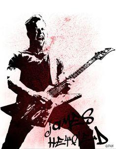 Metallica: James Hetfield.