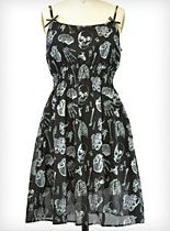 X-Ray Baby Doll Dress at PLASTICLAND  I want this