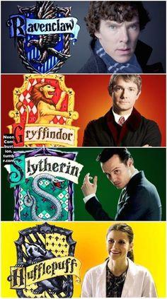 Sherlock+Hogwarts AU.