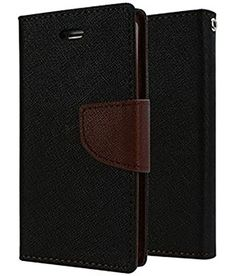 Casecraft Oppo F1 plus Flip Cover Case Wallet Style Cover (Brown) | All Mobile Accessories, Cases & Covers