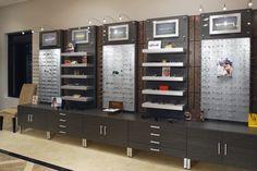 Eye Designs: Optical Frame Displays- Metro Collection