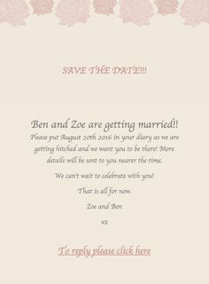 We Are Live Check Us Out Wedding Websites Invitations
