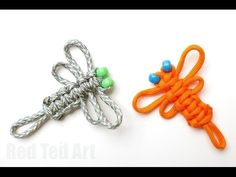 Easy Paracord Dragon Fly How To