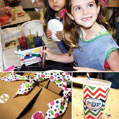 Artist birthday party idea.