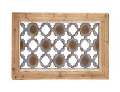 The Rustic Wood Wall Plaque