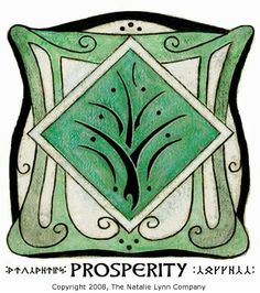 Fairy prosperity symbol