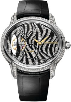 2016 sees the return of classic white and black dial watches from Cartier, Boucheron and Audemars Piguet. Audemars Piguet Watches, Audemars Piguet Royal Oak, Patek Philippe, Rolex, Michael Kors, Gold Hands, High Jewelry, Black Enamel, Luxury Watches