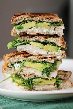 Chicken & Avocado Toasted Sandwich