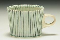 Doug Peltzman; Lines as surface decoration on clay