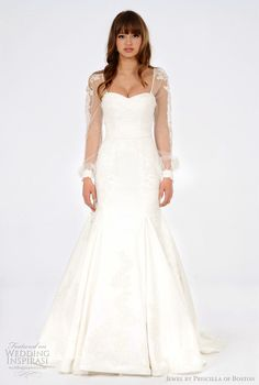 Jewel by Priscilla of Boston Spring 2012 Wedding Dresses | Wedding Inspirasi