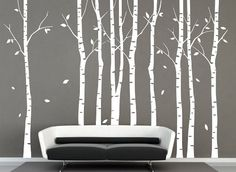 Vinyl Large White Birch Tree Wall Decal Tree Decal Nursery Birch Tree Decals ihomeart http://www.amazon.com/dp/B00J94NNDO/ref=cm_sw_r_pi_dp_uS2Cub0VY6BMK