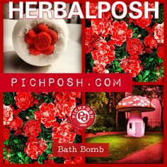 Check out our new PICHPOSH.com Bath Bomb - HERBALPOSH - Deep woody base with herbal notes and a sweet citrus finish. While bathing add one or more Bath Bombs to your Bath & discover the PICHPOSH.com Experience. Shop here: http://www.pichposh.com/securestore/c56625p9582273.2.htmlVisit PICHPOSH.com http://www.pichposh.com#herbal #botanical #nature #flowers #giantmushroom #giantmushrooms #mushroom #mushrooms #bathbomb #bathbombs #red #fun #bathandbody #cool  #artistic #shopcanada #pichposh