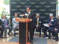@DrJoeParisi is telling everyone about the exciting new @LindenwoodU Old Post Office location downtown! #LikeNoOther ow.ly/i/jiAlN