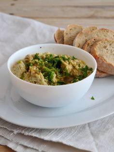 Pasta de beringela - Baba ghanoush - Compassionate Cuisine