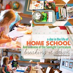 A day int the life of homeschool and a review of Sonlight #homeschool #homeschoolcurriculum