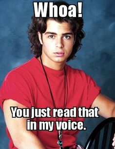 Joey Lawrence when he was on Blossom Tv Memes, Funny Memes, Blossom Tv Show, Joey Lawrence, Mayim Bialik, Childhood Memories, 90s Childhood, Tv Quotes, Teenage Years