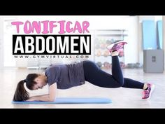 Rutina de abdominales | Tonificar abdomen - YouTube