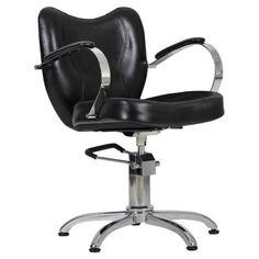 Fotel fryzjerski Retro - czarny 800zl