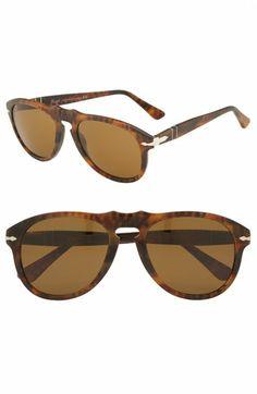 03a067c1dfda Persol  649  Retro 52mm Keyhole Sunglasses
