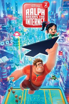 8 18 8pm Video Game Bad Guy Ralph And Fellow Misfit Vanellope Von Schweetz Embark Once Again On A Misad Wreck It Ralph Internet Movies Walt Disney Pictures