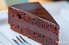 Belga csokitorta - Vidék Íze Cold Desserts, Dessert Drinks, Delicious Desserts, Pastry Recipes, Cookie Recipes, Cake Cookies, Cupcake Cakes, Food Platters, Sweet And Salty