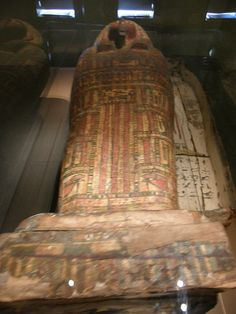 Coffin of Thothirdes  Wood, painted plaster  Late Period, Dynasty 26, circa 664-525 BCE  Brooklyn Museum