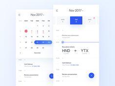 25 Ideas Design App Calendar Mobile Ui For 2019 Calender App, Free Calendar, Printable Calendar Template, Kids Calendar, Calendar Design, Web Design, App Ui Design, Mobile App Design, Magazine Design