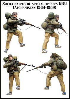 Soviet Sniper of Special Troops GRU (Afghanistan 1984-1989)