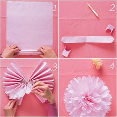 7 Year Wedding :: A Wedding Blog Full Of Easy Ideas For a Beautiful Wedding, Home and Life!: Tissue Pom Poms