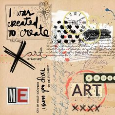 For the challenge by Paula Kesselring at The Lilypad. Credits: Mixed Media…