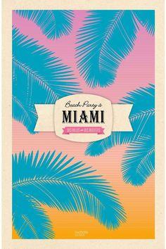 Beach Party à Miami de Claire Guigal, Aurélie Rouquette et Laure Sirieix